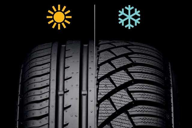 Razlika između zimskih i letnjih guma