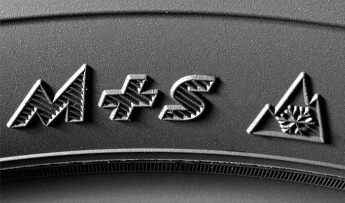 Oznaka m+s na gumama