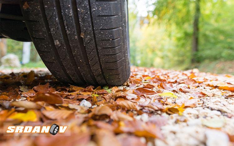 Lišće na putu - opasno kao led!